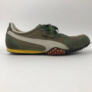 Puma 5000m Green Orange White Yellow Track Shoes